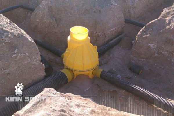 Polyethylene manhole 600x400 - لیست قیمت منهول پلی اتیلن