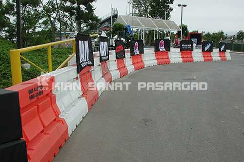 plastic barrier event rentals - (Jersey barrier) جداکننده نیوجرسی چیست؟