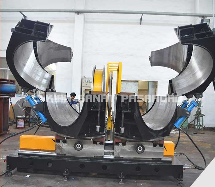 Competitive Price 315 Hdpe Pipe Jointing Machine - دستگاه جوش پلی اتیلن هیدرولیک زاویه زن