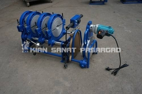200mm 4 rings manual butt fusion jointing machine 702 - دستگاه جوش پلی اتیلن نیمه هیدرولیک