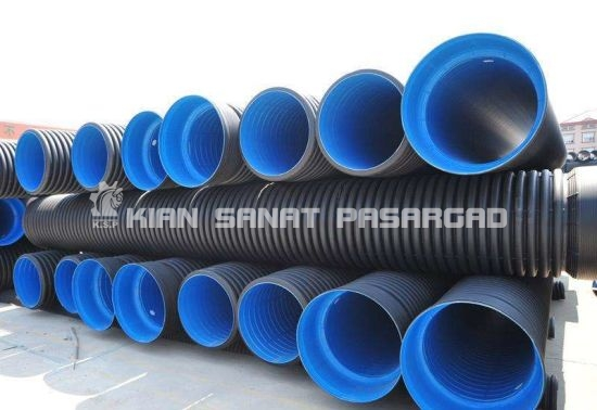 Dn160 Sn10 Grade Perforated HDPE Pipe Corrugated PE Pipe 1 - لوله پلی اتیلن چیست