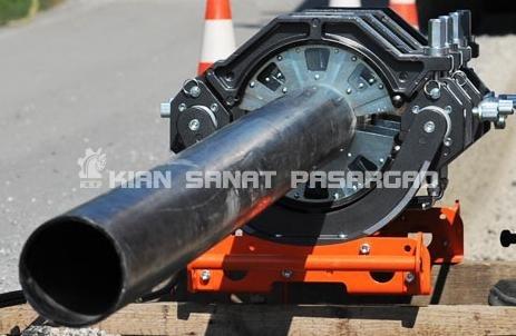 HDPE pipe fusion machine 250mm 1 - دستگاه جوش پلی اتیلن دستی