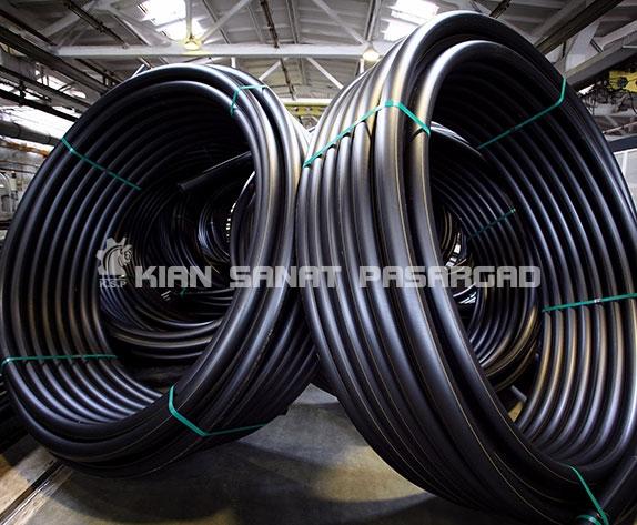 PE Pipes For Underground Coal Mine 3 - جدول وزن و ضخامت لوله های پلی اتیلن