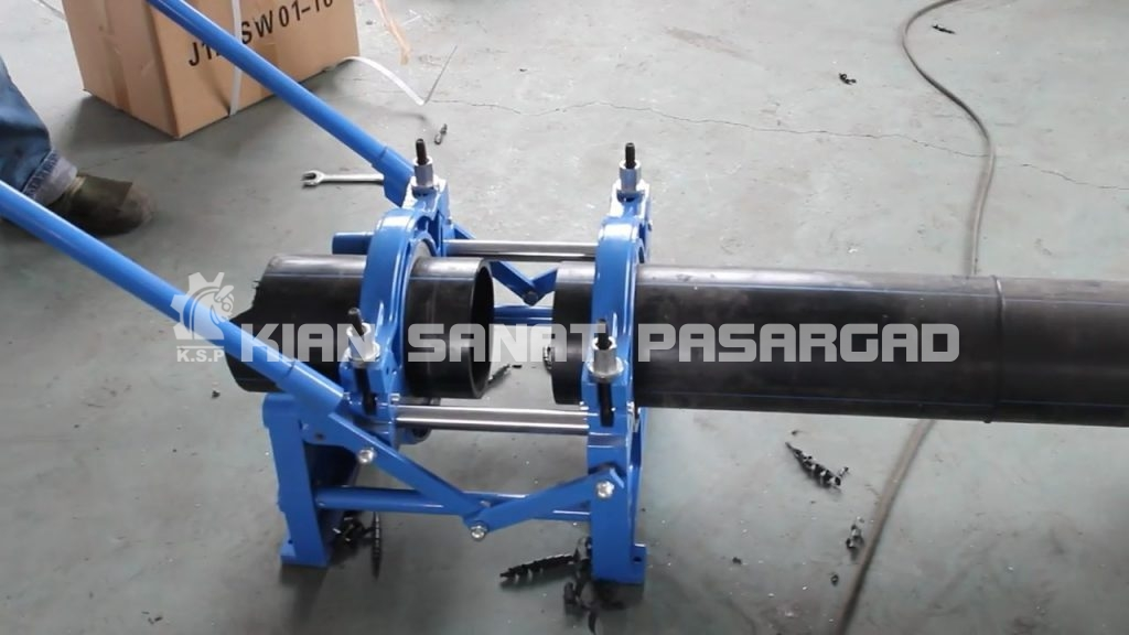 hdpe butt fusion machine 160 hand push operation video.mp4 snapshot 01.48 2018.07.02 14.32.52 1024x576 - دستگاه جوش پلی اتیلن دستی 160