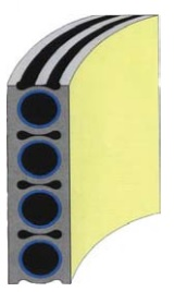 مشخصات جداره رایزر | RISER WALL CONSTRUCTION