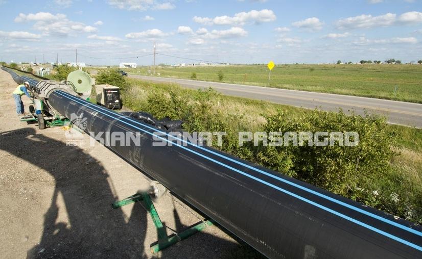 Austin bluestripe pipe 1 - کاربرد لوله پلی اتیلن در آبرسانی