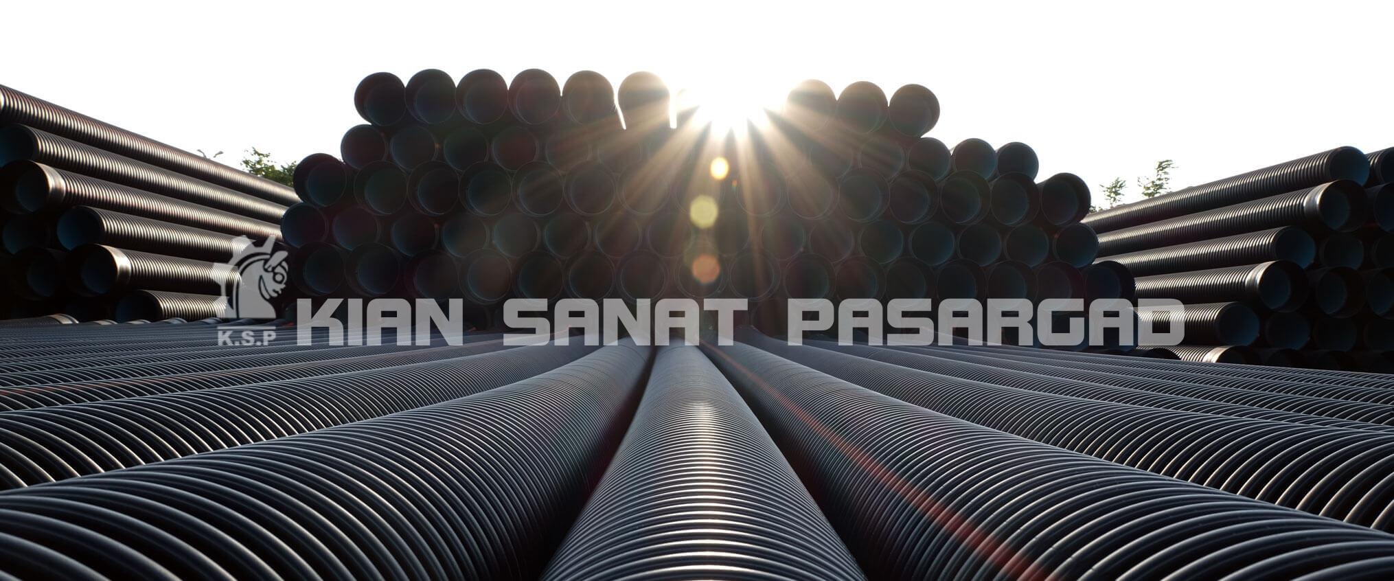 HDPE CorrugatedPipe - لوله پلی اتیلن در صنعت پلی اتیلن
