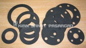 rubber gasket for pipePipe Flange Gaskets 300x167 - واشر فلنج (Flange gasket) چیست؟